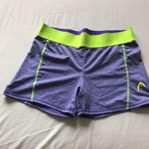 Head workout shorts- size L